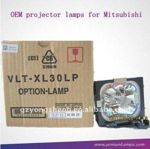 Vlt-xl30lp xl25 mitsubishi lampada del proiettore per mitsubishi proiettore