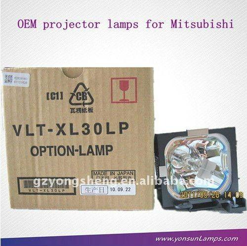 Vlt-xl30lp mitsubishi projektorlampe für xl25 mitsubishi projektor