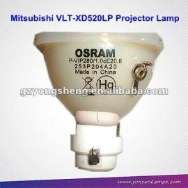 Mitsubishi vlt-xd520lp proyector bombilla de la lámpara vip280w 1.0 e20.6