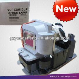 Mitsubishi vlt-xd510lp lámpara del proyector& xd510 proyector