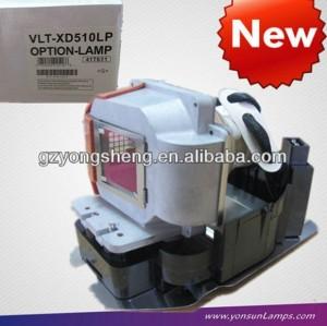 Vlt-xd510lp mitsubishi lampada del proiettore xd510 proiettore, videoproiettore