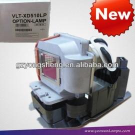 Mitsubishi vlt-xd510lp proyector de la lámpara del proyector xd510, beamer