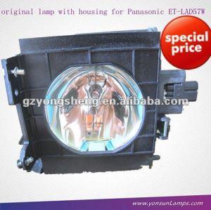 Originale panasonic pt-fd570 et-lad57w lampada del proiettore