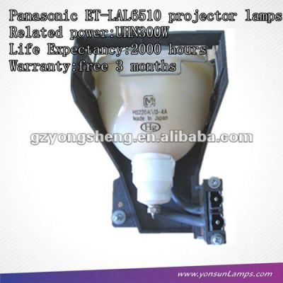 Per panasonic et-lal6510 uhn300w lampada del proiettore