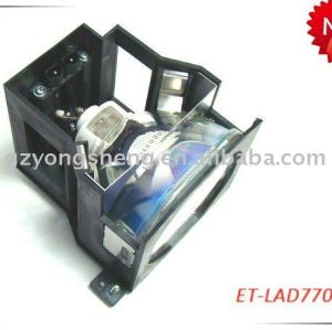 Lampe de projecteur pour panasonic et-lad7700 pt-d7700 projecteur.