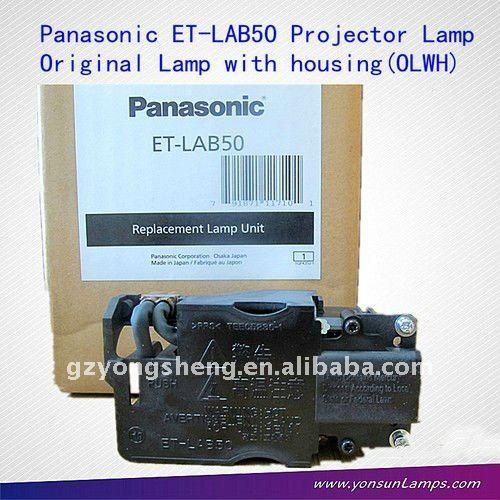 замена/оригинальные panasonic et-lab50 дампа для проектора