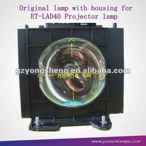Et-lad40w proyector de la lámpara para panasonic con un rendimiento estable