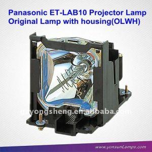 оригинальный et-lab10 panasonic проектор подходят лампы пфр спиральный pt-lb10