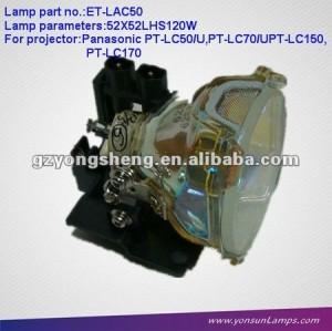 영사기 Panasonic PT-LC150/LC50U/LC70U를 위한 영사기 램프 ET-LAC50