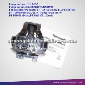 ET-D5100/D5700/DW5100를 위해 적합했던 가득 차있는 새로운 영사기 램프 ET-LAD57