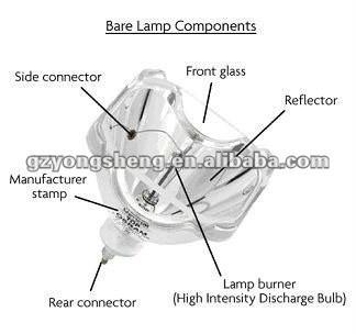 Originale lampada del proiettore panasonic et-la095 per proiettore pt-l592 pt-l595