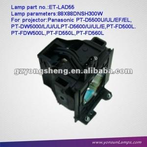 파나소닉 et-lad55 pt-fd560l 프로젝터 램프