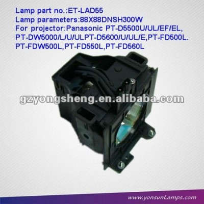 Panasonic lampada del proiettore per pt-fd560l et-lad55