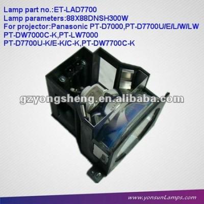 Lampada del proiettore et-lad7700 con alloggiamento per panosonic pt-d7700/d7700k