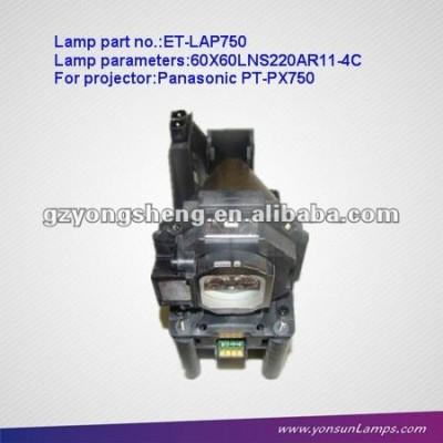 Et-lap750 proiettore lampade per proiettori panasonic pt-px750