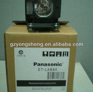 Vendita calda et-lab80 lampada del proiettore panasonic pt-lb80 per panasonic