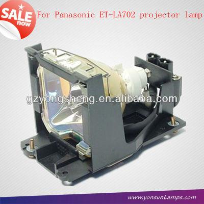 Per panasonic et-la702 lampada del proiettore