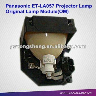 Per panasonic et-la057 lampada del proiettore