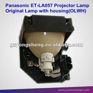 Per et-la057 lampada del proiettore panasonic