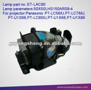 Lampade per proiettori per et-lac80 pt-u1s66/x66/x86