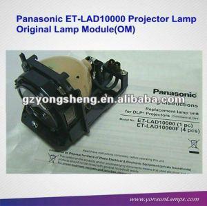 Lampe pour projecteur panasonic et-lad10000 mercure, pt-d10000