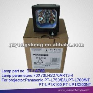 Lampade per proiettori et-la780 adatto per pt-l750/l780/l780nt ( om )