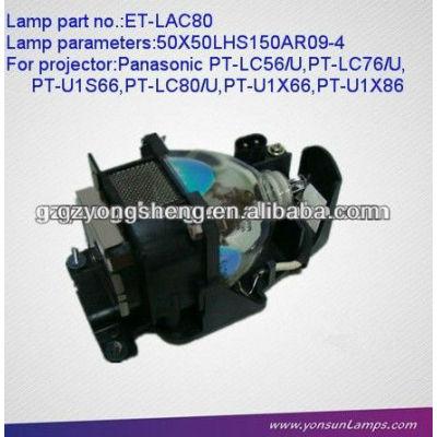Et-lac80 lampada del proiettore di panasonic con qualità eccellente