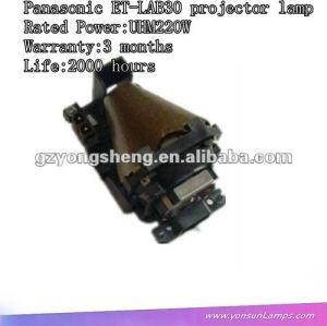 Et-lab30 lampada del proiettore di panasonic con prestazione stabile