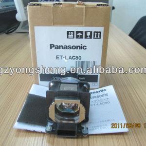 PT-U1S66를 위한 Oirginal Panasonic ET-LAC80 영사기 램프