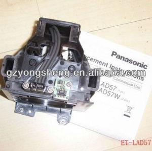 Et-lad57 lampada del proiettore di panasonic con qualità eccellente