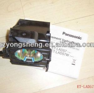 Et-lad57w lampada del proiettore con custodia di alta qualità per proiettore panasonic