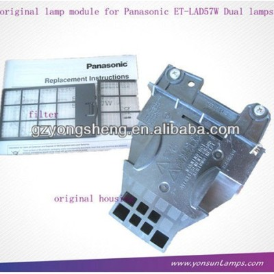 Oem panasonic proiettore lampada et-lad57w, bulbo panasonic