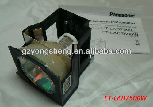 Lampada del proiettore per et-lad7500 pt-d7500 panasonic proiettore