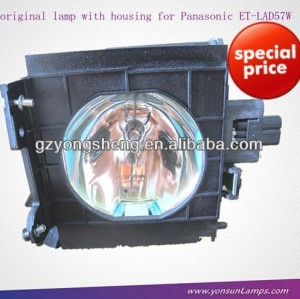 Et-lad57 panasonic. pt-d5700 lampe de projecteur pour panasonic