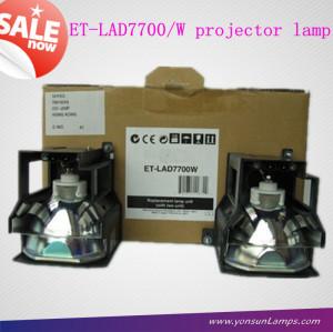 Lampe de projecteur pour panasonic et-lad7700w pt-d7700 projecteur.