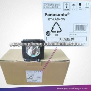 Et-lad40w panasonic. pt-d4000 lampe de projecteur pour panasonic