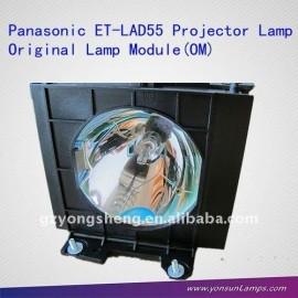 La lámpara del proyector panasonic et-lad55/et-lad55l lámpara del proyector panasonic