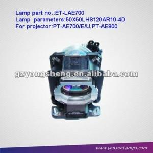 Lampe pour projecteur lcd et-lae700 panasonic. lampe de projecteur