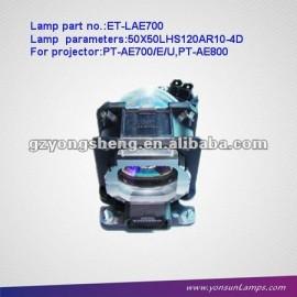 Lámpara de proyector lcd et-lae700 lámpara del proyector panasonic
