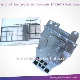 La lámpara del proyector et-lad57 lámpara del proyector panasonic( pt- d5700 nsh 315w)