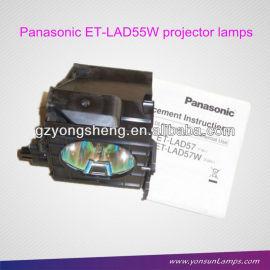 Audio- visual de la lámpara del proyector panasonic et-lad57 lámpara del proyector