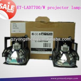 De audio- video proyector de la lámpara et-lad7700 lámpara del proyector panasonic