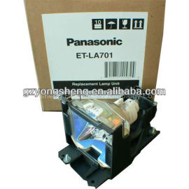 Panasonic et-la701 lamp+lamp proyector de la vivienda, lcd proyector panasonic