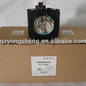 Original pansonic et-lad40/lad40w lampe de projecteur pour s'adapter pt-d4000/einformations/u pt-fd400/l