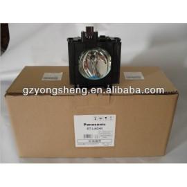 Original pansonic et-lad40/lad40w lámpara del proyector apto para pt-d4000/e/u pt-fd400/l