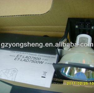 Lampe de projecteur panasonic et-lad7500w/ws for pt-d7500 projecteur.