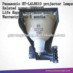 Lampe de projecteur pour panasonic pt-f1x500 et-lal6510