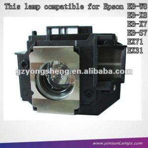 Lampe de projecteur elplp54 for eb-w8/eb-x8/eb-x7/eb-s7 projecteurs