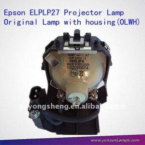 pour epson elplp27 lampe de projecteur original