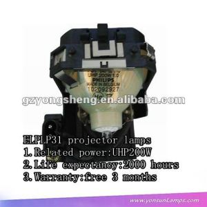 For original ELPLP31 UHP200W projector lamps with housing